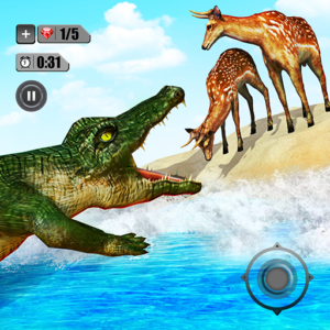 Angry Crocodile Simulator – Real Animal Attack APK MOD Unlimited Money
