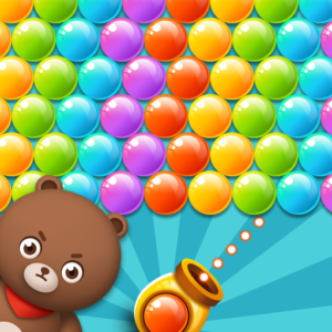 BUBBLE SHOOTER HUNGRY BEAR APK MOD Unlimited Money