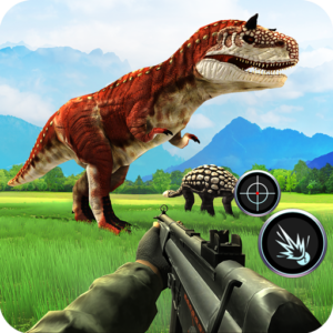 Dinosaur Hunter Sniper Jungle Animal Shooting Game APK MOD Unlimited Money