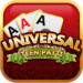 Universal Teen Patti – Indian Poker Game 1.16 APK MOD Unlimited Money