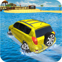 Water Surfer Jeep Cars Race on Miami Beach 1.8 APK MOD (Unlimited Money)